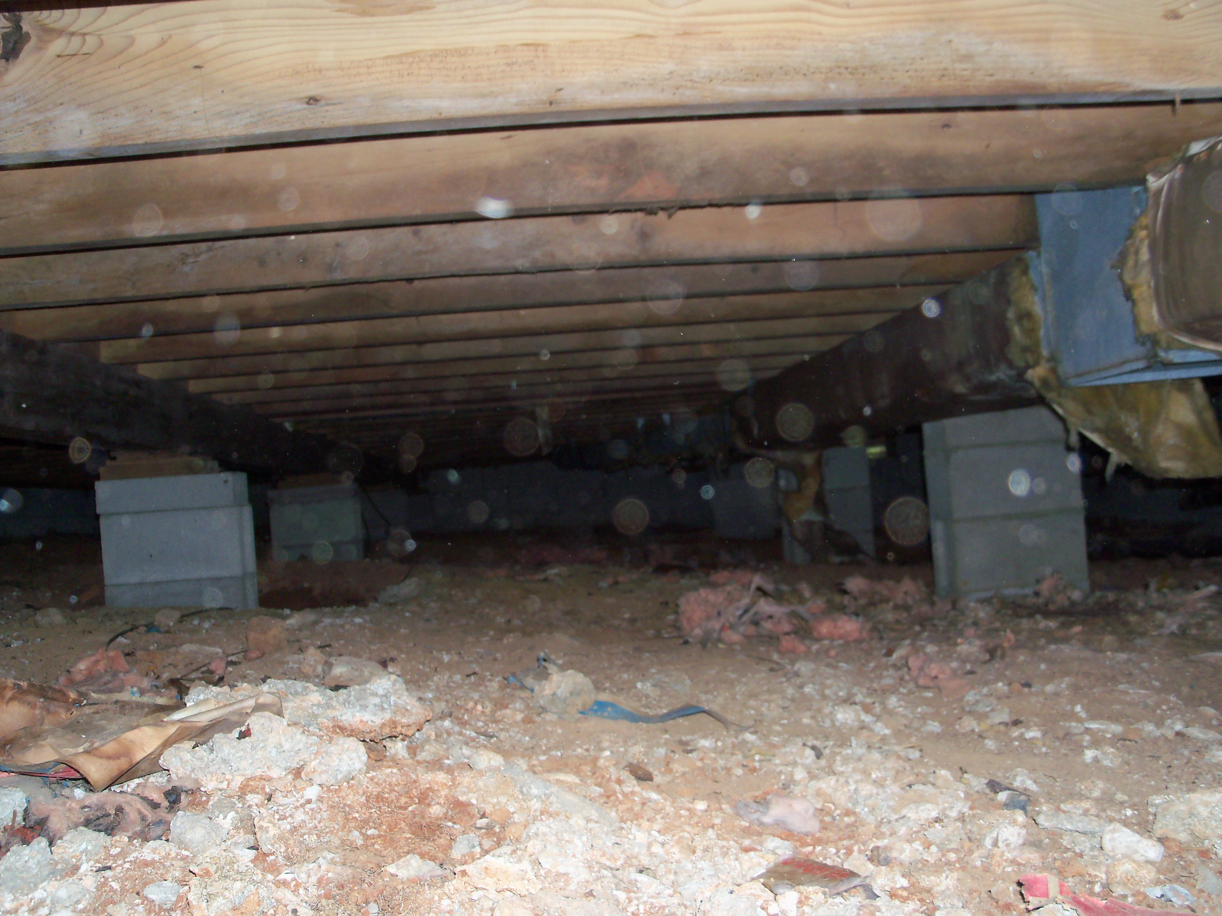 The crawlspace or the land down under revisited green for Building a crawl space